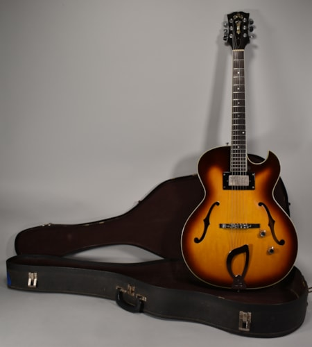 1962 T-100 Vintage Hollowbody Electric Guitar Bill Lawrence w/OSSC