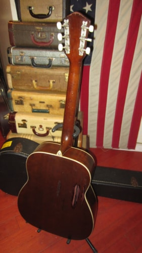 1963 Airline / Harmony Sovereign Jumbo Acoustic Flattop Natural