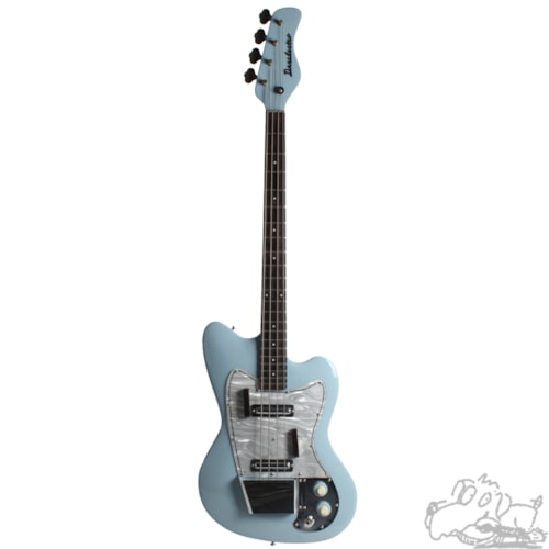 1963 Danelectro Series E Dane Baby Blue, Mint, Original Hard, $1,900.00