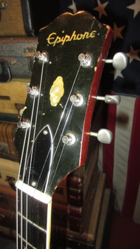 1963 Epiphone Professional Red, Excellent, Original Hard, $2,499.00