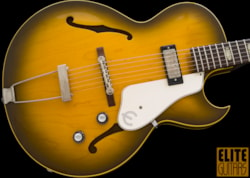 1963 Epiphone Sorrento E452T, Clean in ROYAL OLIVE GREEN