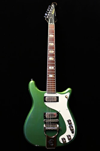 1963 Epiphone Wilshire Inverness Green, Excellent, Hard,