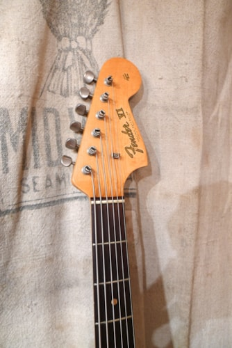 1963 Fender® Bass VI Blond, Excellent, Original Hard, $10,950.00