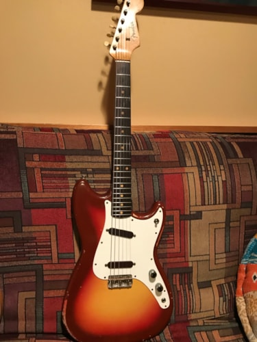 1963 Fender Duo Sonic with original fawn case