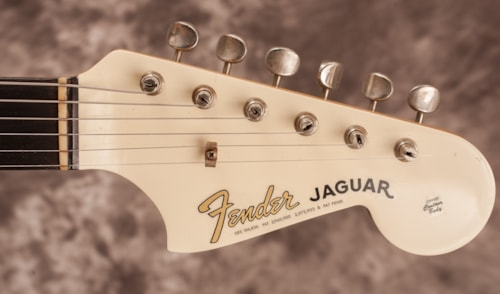 1963 Fender Jaguar Olympic White Gt Guitars Electric Solid