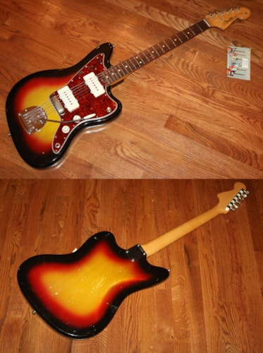 1963 Fender® Jazzmaster™ Sunburst, Very Good, Hard