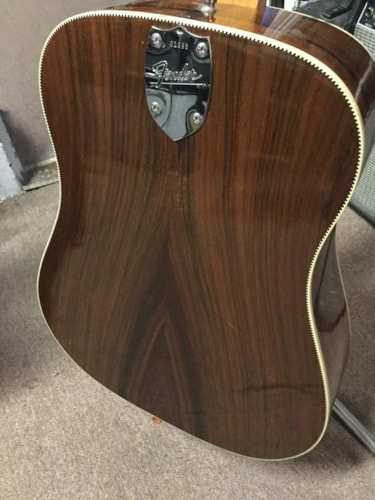 1963 Fender® King Acoustic Guitar Natural, Very Good, Hard