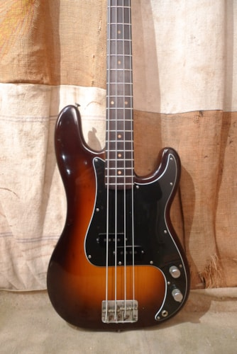 1963 Fender Precision Bass Sunburst, Very Good, Hard, $4,600.00