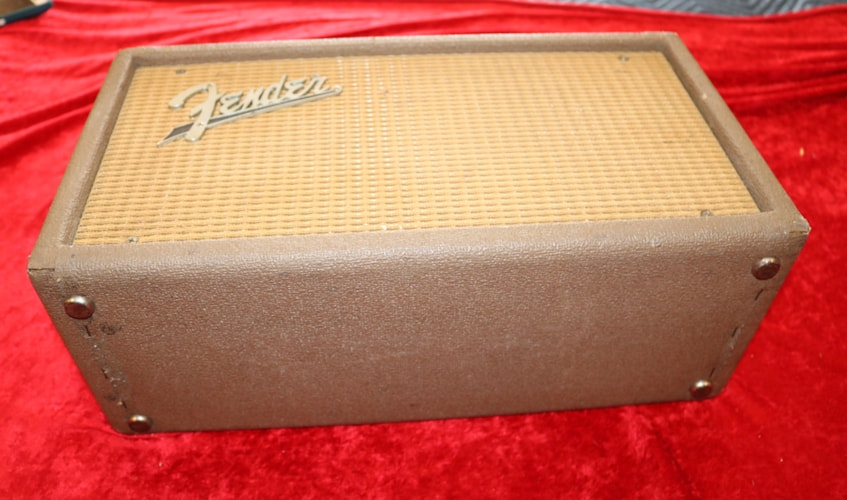 1963 Fender Reverb Tank Model 6G15 Brown, Very Good