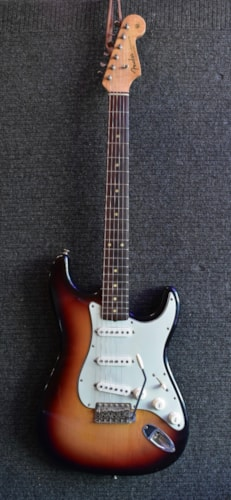 1963 Fender Stratocaster Excellent, Hard, Call For Price!