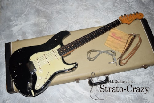 1963 Fender Stratocaster Black/Rose neck