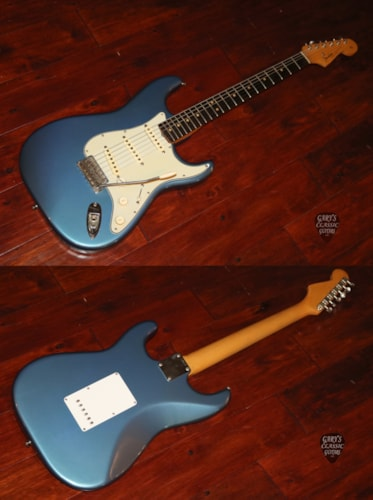 1963  Fender  Stratocaster  Lake Placid Blue