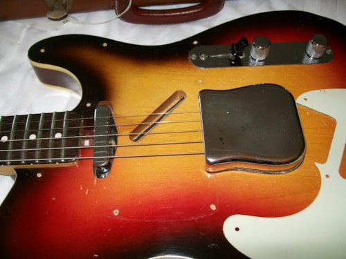1963 Fender Telecaster Custom Sunburst