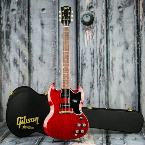 Gibson Custom Shop 1963 SG Special Reissue Lightning Bar VOS, Cherry Red