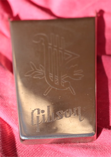 1963 Gibson Maestro Cover Nickel, Near Mint, $595.00