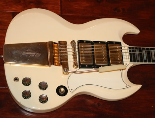 1963  Gibson  SG Les Paul Custom White