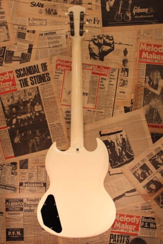 1963 Gibson SG SPECIAL White, Excellent, Original Hard, Call For Price!