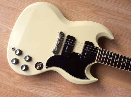 1963 Gibson SG Special White, Excellent, Soft