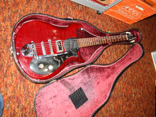 ~1963 Gretsch Corvette sunburst