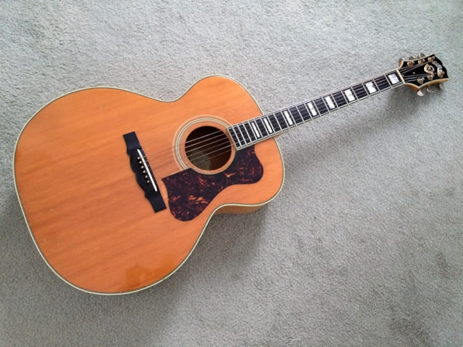 1963 GUILD F 50 B natural, Excellent, Hard, Call For Price!