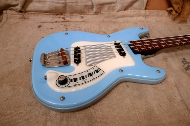 ~1963 Hagstrom Kent 1 Powder Blue