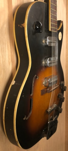 ~1963 Kay/Truetone/Old Kraftsman Speed Demon K573/Jazz King Sunburst