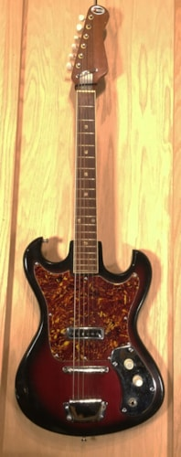 1963 Kingston S-1 Solid Body Electric Guitar