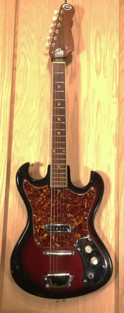 ~1963 Kingston S-1 Solid Body Electric Guitar