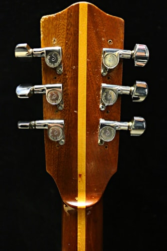 1963 Melody Guitar Blues Acoustic natural, Brand New, Original Hard, Call For Price!