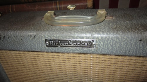 1963 Rickenbacker Small Combo Amp Grey, Excellent, $549.00