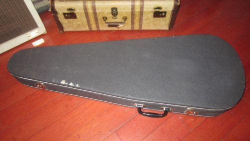 1963 VOX Electric Guitar Case Grey with Brown Interior