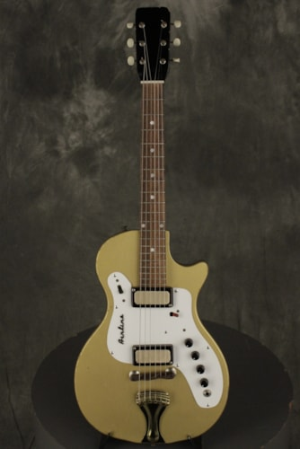 1964 Airline 7214 with amp/case Gold, Good, Original Hard, $945.00