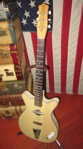 1964 Danelectro Convertible Natural, Excellent, GigBag, $795.00