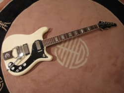 1964 Epiphone Crestwood Custom Polaris White