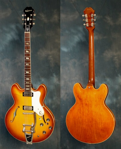 1964 Epiphone Riviera Royal Tan, Near Mint, Hard