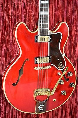 1964 Epiphone Sheraton Cherry Red, Near Mint, Original Hard, $12,500.00