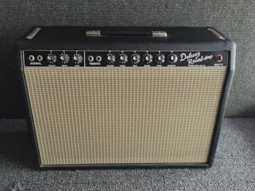 1964 FENDER Deluxe Reverb - Excellent. ON HOLD.