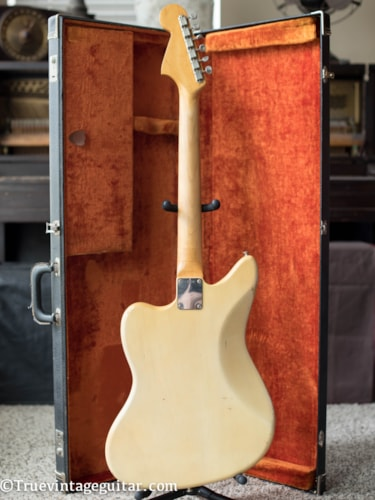 1964 Fender® Jaguar® Blonde Ash Body, Excellent, Original Hard, $1.00