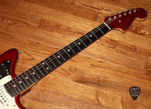 1964  Fender Jaguar  Candy Apple Red with matching headstock