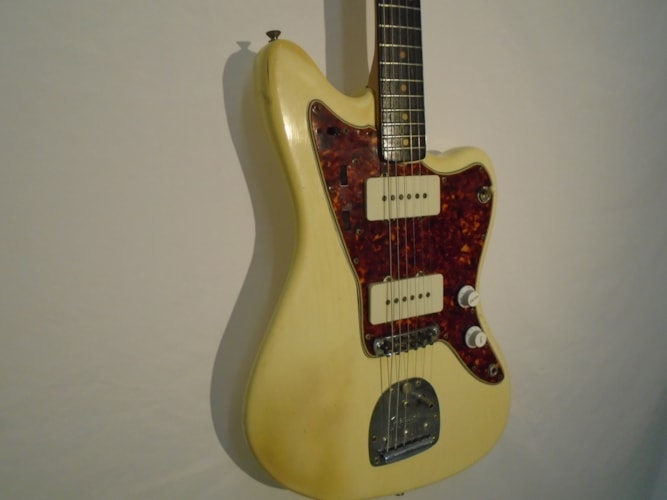 1964 Fender Jazzmaster Olympic White, Excellent