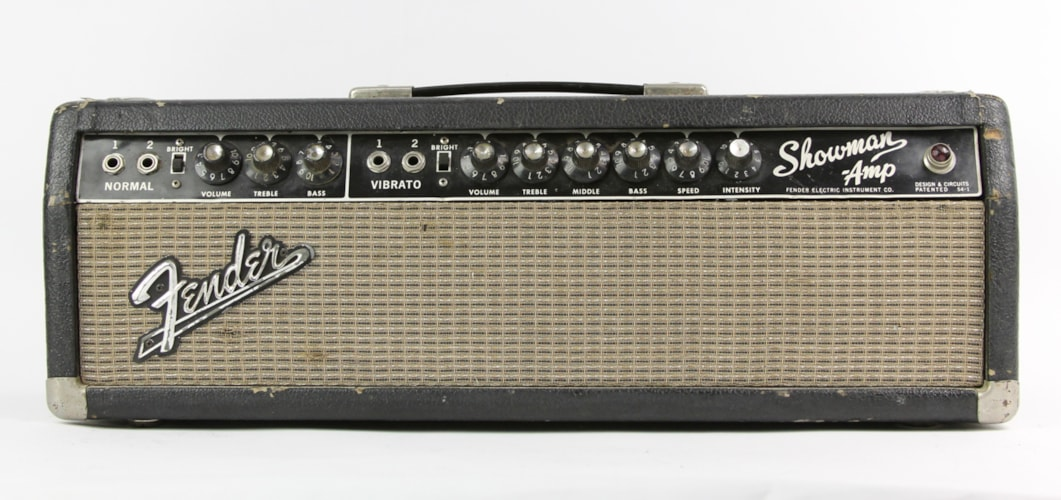 1964 Fender® Showman® Head Blackface, Fair, $799.00
