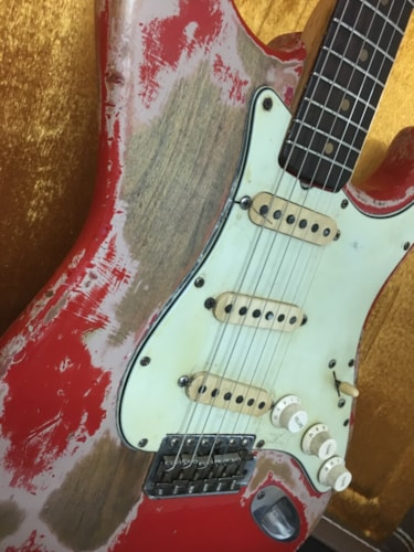 1964 Fender Stratocaster Fiesta Red [Video]