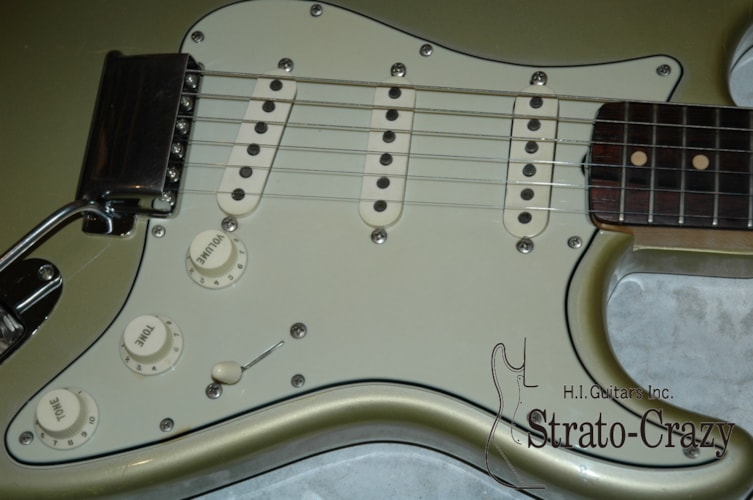 1964 Fender® Stratocaster® Inca Silver Metallic, Near Mint, Original Hard, Call For Price!