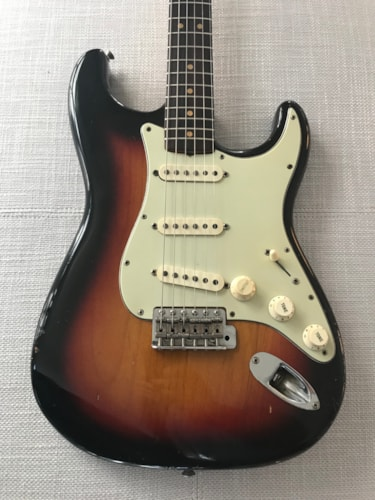 1964 Fender Stratocaster - Original Owner Sunburst 1 piece Body