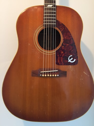 1964 Gibson - Epiphone FT79 Texan Faded Shade Top, Excellent, Hard, Call For Price!