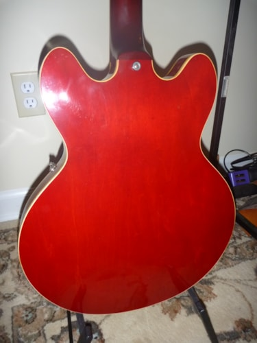 1964 Gibson Es 335 Cherry, Near Mint, Original Hard