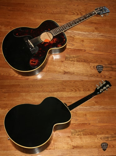 1964  Gibson  Everly Brothers  Black Guard