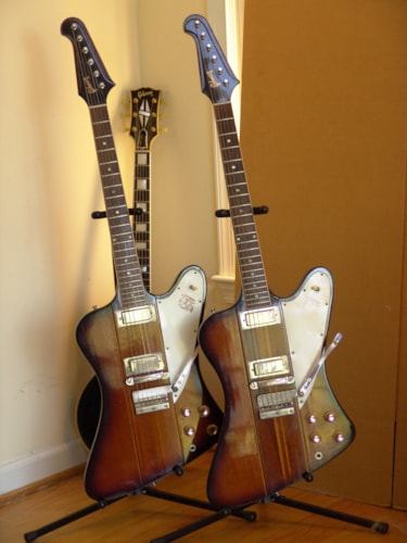 1964 Gibson FIREBIRD III Sunburst, Excellent, Original Hard
