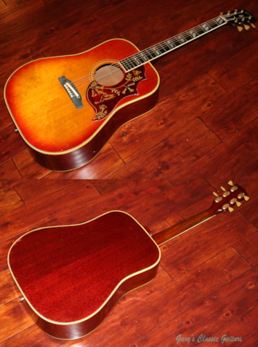 1964 Gibson Hummingbird  (#GIA0660) Cherry Sunburst, Very Good, Hard