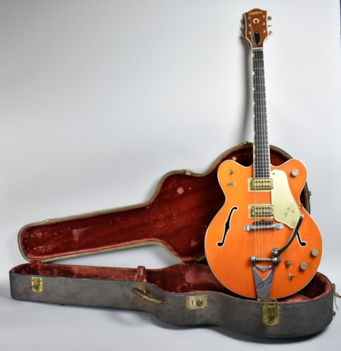 1964 Gretsch 6120 Chet Atkins Orange, Very Good, Original Hard, $3,695.00
